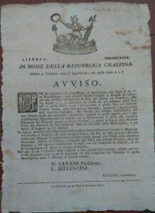 1797-MODENA-REPUBBLICA-CISALPINA-AVVISO-SU-DISTRIBUZIONE-DEL-PANE-PER-I-POVERI
