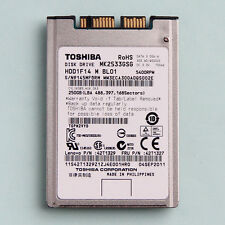 Toshiba 250 GB Intern,5400 RPM,8mm (1,8 Zoll) (MK2533GSG) MICRO SATA Festplatte