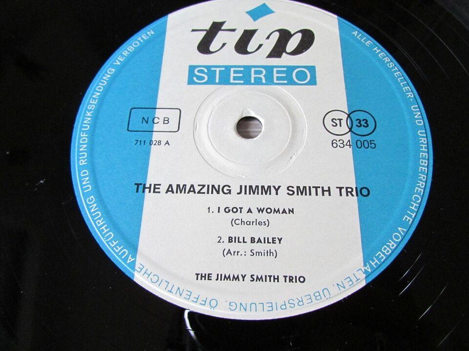 LP, JIMMY SMITH - , THE AMAZING JIMMY SMITH TRIO LIVE!