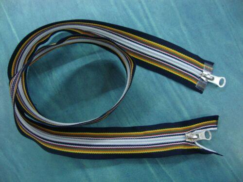 Cerniera cm.80 doppio cursore K-WAY KWAY lampo zip 6 lunghezza modificabile