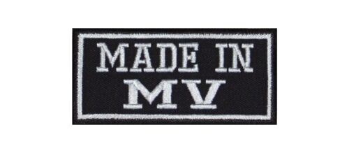 Made in MV Mecklenburg Vorpommern Biker Patches Aufnäher MC Motorrad Meck Pomm
