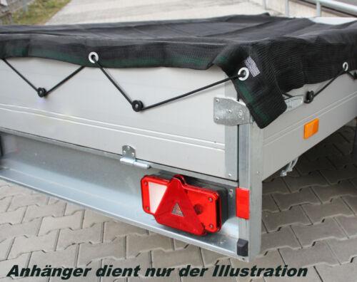 Gummizug  Anhängerplane Containernetz Ladungssicherung Gewebe NEU Anhängernetz