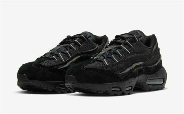 Size 10 - Nike Air Max 95 x Comme des Garcons Black 2020 for sale ...