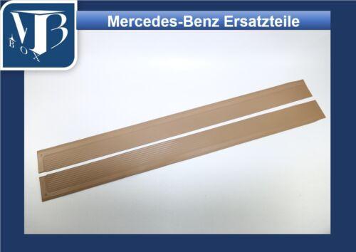 Mercedes w107 r//c107 280-560 SL SLC Seuils Caoutchouc Revêtement Seuil Datte