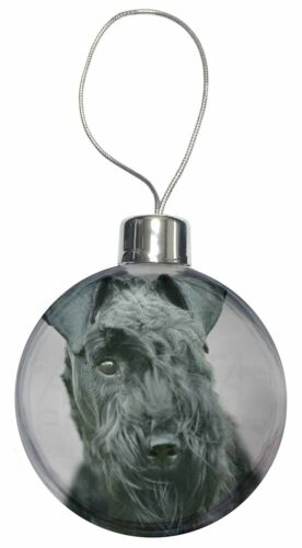 Kerry Blue Terrier Dog Christmas Tree Bauble Decoration Gift AD-KB1CB