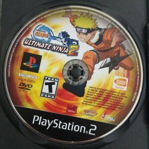 Naruto Ultimate Ninja 2 PS2 Game 2007 Bandai Disc Only Playstation 2