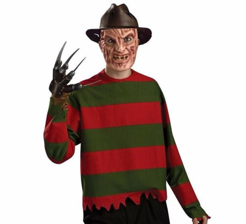 Adult 80s Halloween Movie Fancy Dress Costume Beetlejuice Scissorhands Krueger