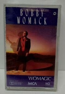 NEW SEALED Vintage 1986 Bobby Womack Womagic Cassette Tape Small Crack in Case