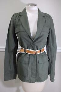 NWT-ELIZABETH-AND-JAMES-Women-039-s-Green-Parka-Jacket-Size-XS-JA200