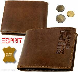 ESPRIT-Herren-Brieftasche-Geldtasche-Geldboerse-Portemonnaie-Geldbeutel-656-miles