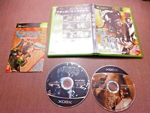 Microsoft-Xbox-CIB-Complete-Tested-Otogi-2-Immortal-Warriors-Japanese-Import