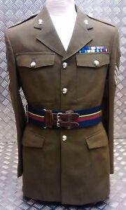 Genuine-British-Royal-Navy-Royal-Marines-RM-Stable-Military-Belt-All-Sizes