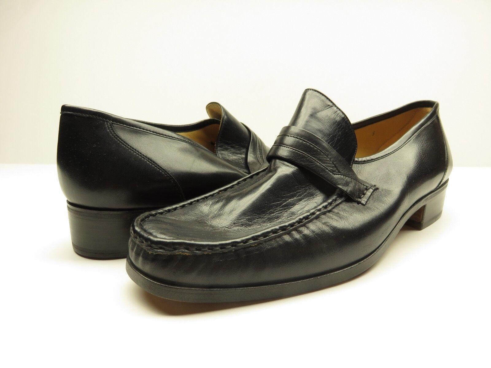 online al miglior prezzo NEW Andre Marseille Hanover Slip-on Loafer Dress scarpe NAPPA NAVY NAVY NAVY Dimensione 9.5 M NOS  perfezionare