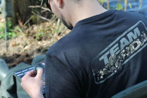 Korda Kore Digital Camo TK Tee Black Team Korda Full Range Carp Coarse Fishing
