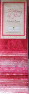 Batik-Pinking-Of-You-VERSION-3-Cotton-Fabric-Wilmington-24-Strips-2-5-034-X44-034