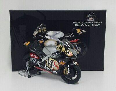 Forte Minichamps 1/12 Modellino Statico Moto Aprilia Rsv 250cc Marco Melandri Die Cast