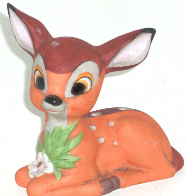 Disney  Bambi Figurine Ceramic Deer Theme Parks