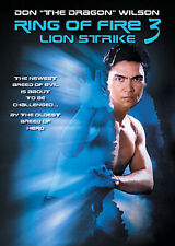 "RING OF FIRE III rare Martial Arts dvd DON ""The Dragon"" WILSON"