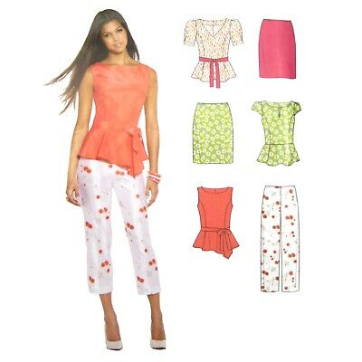 A New Look sewing pattern 6670: Misses Dresses size A 8-10-12-14-16-18