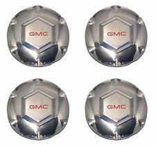 SET of 4 02-07 GMC Envoy, 02-06 XL, 04-05 XUV Center Wheel Hub Cap - NEW