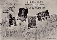 # TORRE DEL GRECO: FESTA DEI QUATTRO ALTARI  1959