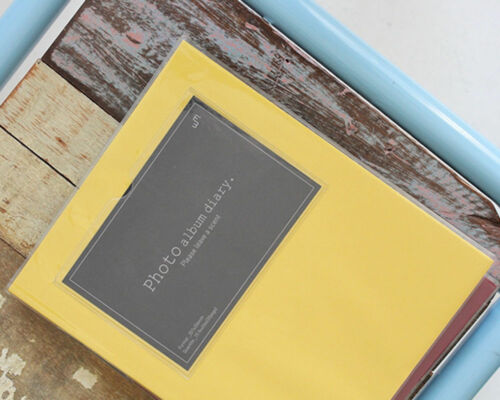 Colorful Magnetic Album Self Adhesive Photo Album Art Book DIY Holds Everysize