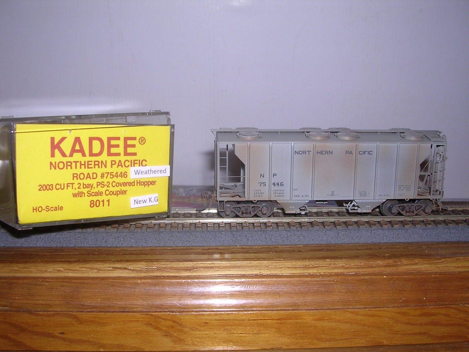 Kadee  8011 Pacífico del norte PS-2 2-Bay 2003 Cu. ft. COV. Tolva  75446 Weath.H. O.