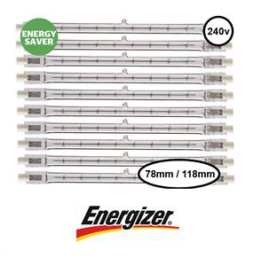 Energizer Économie d/'Énergie R7s Tungstène Halogène Projecteur 100W 150W 200W