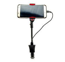 KFZ Auto Halterung Schwanenhals USB Ladefunktion 1,5A für Samsung S8 S7 S6 J5 A5