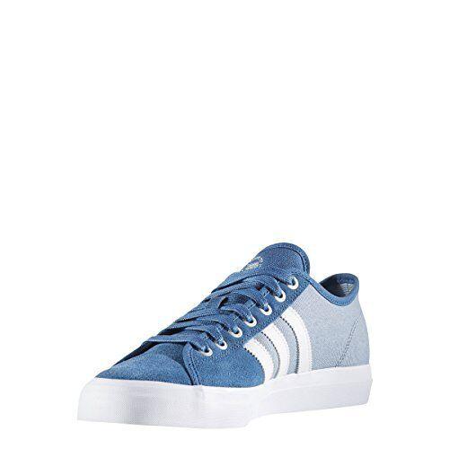 Adidas Skateboarding Mens Matchcourt RX Core Blau  Weiß Tactile Blau