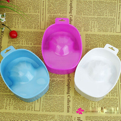 Nail Art Hand Bath Soak Bowl Remover Cleanser Container Tips Polish Manicure Kit