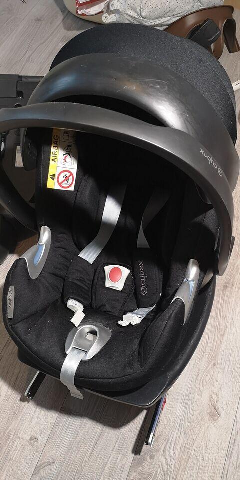 Autostol, op til 13 kg , Cybex Aton Q i-Size + 2 x Base Q i-Size