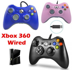 For-Microsoft-Xbox-360-Wired-Controllers-Joystick-PC-Windows-USB