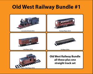 Old West Cowboy Railway Bundle