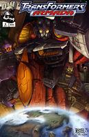 Transformers: Armada #3 (NM)`02 Sarracini/Raiz
