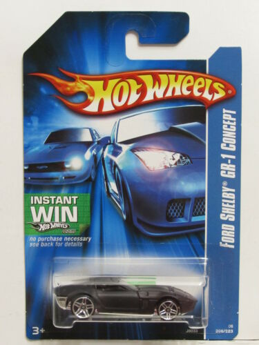 HOT WHEELS 2006 FORD SHELBY GR-1 CONCEPT BLACK