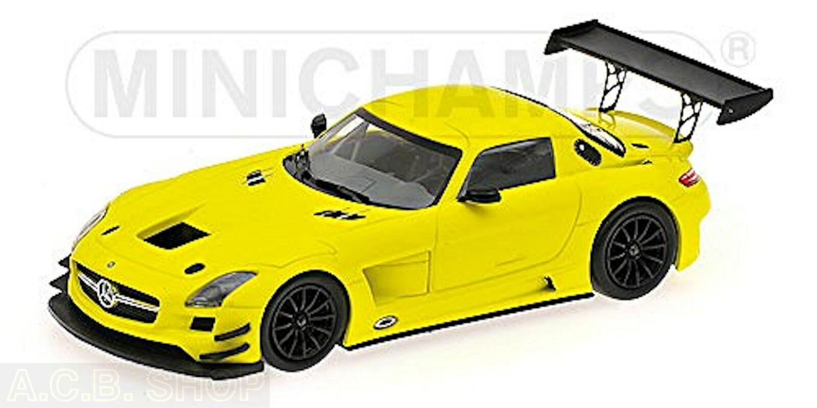 ofrecemos varias marcas famosas Mercedes Benz SLS AMG AMG AMG gt3 Street amarillo amarillo ed. 528 PCs. 1 43 Minichamps  edición limitada en caliente