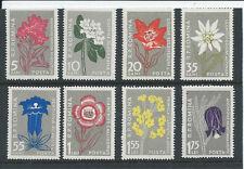 Romania 1957 Fiori Set sg2513 / 2520 Unmounted MINT