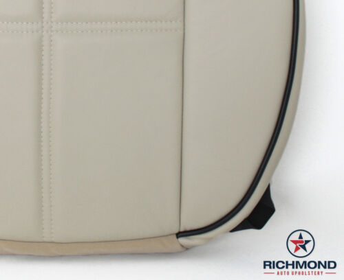 08 Lincoln Mark LT-Driver Side Bottom Replacement GENUINE Leather Seat Cover Tan