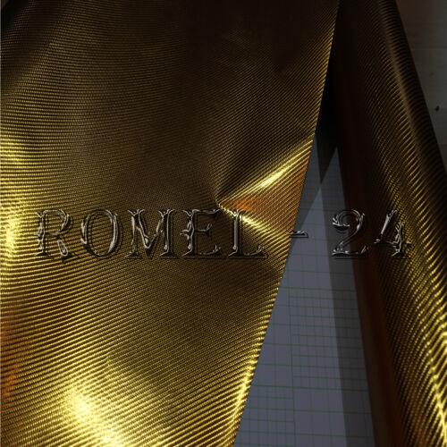 [18,00€/ m²] Chrom Auto Motorrad möbel Folie Gold PREMIUM  4D  Selbstklebend
