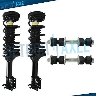Rear Left Right Complete Strut Assembly for 1997-2003 Ford Escort