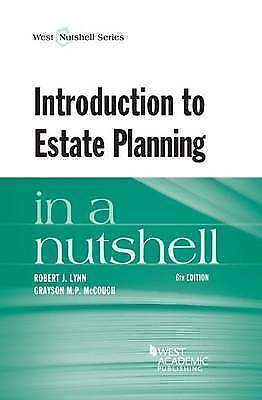 Introduction to Estate Planning in a Nutshell by McCouch, Grayson (Paperback boo