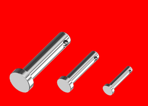 Sicherungsbolzen Steckbolzen Splinte Splintbolzen Set 25-65mm Lang B8137 60 tlg