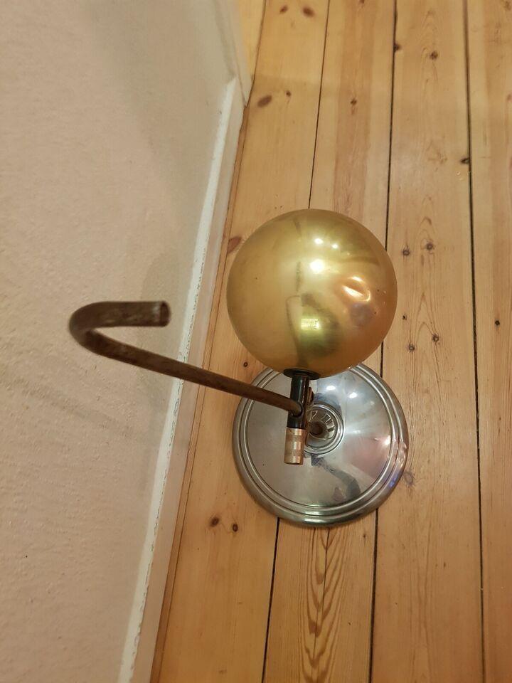 Anden arkitekt, 3 typer metal, bordlampe