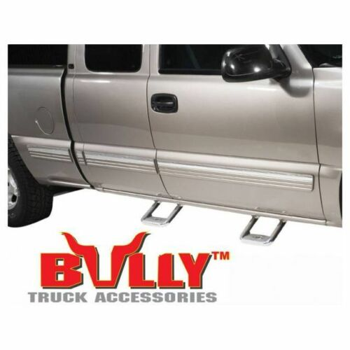 Bully Aluminum Side Step Pair AS-600 Chevy//GMC//Ford//Dodge RAM