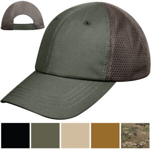 Image is loading Tactical-Mesh-Cap-Adjustable-Military-Ball-Hat-Lightweight- f8758b866fe