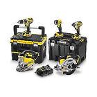 DeWALT DCK550M3T Cordless Kit in 2 x TSTAK 18-Volt 3 x 4.0Ah Li-Ion