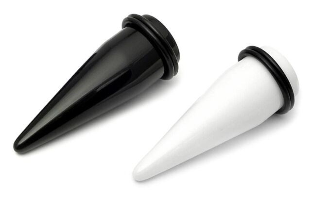 BIG SIZE EAR STRETCHER LARGE HEAVY GAUGE TAPER TUNNEL FLESH PLUG 18MM - 30MM KIT