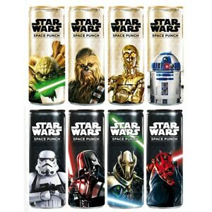 SET OF 8 STAR WARS FORCE AWAKENS SPACE PUNCH LIMITED EDITION CAN - 335ml EMPTY - Gdynia, Polska - SET OF 8 STAR WARS FORCE AWAKENS SPACE PUNCH LIMITED EDITION CAN - 335ml EMPTY - Gdynia, Polska
