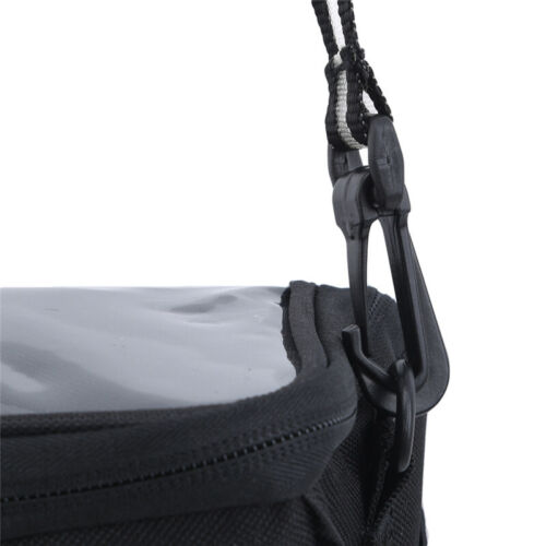 Package Bicycle Bags Front Beam Bag Black Rainproof Waterproof 1pc Saddle Bags